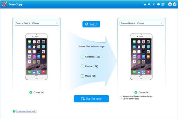 Trasferisci video iPhone
