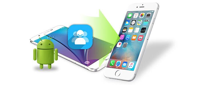 Trasferisci contatti Android su iPhone