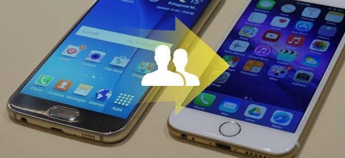 Przenieś kontakty z Androida na iPhone'a