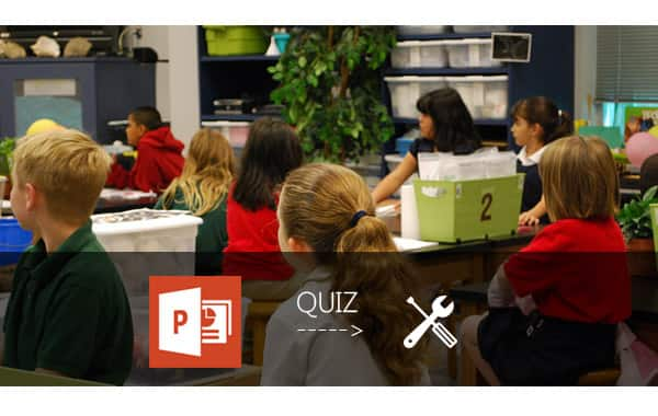 how to make a quiz on powerpoint