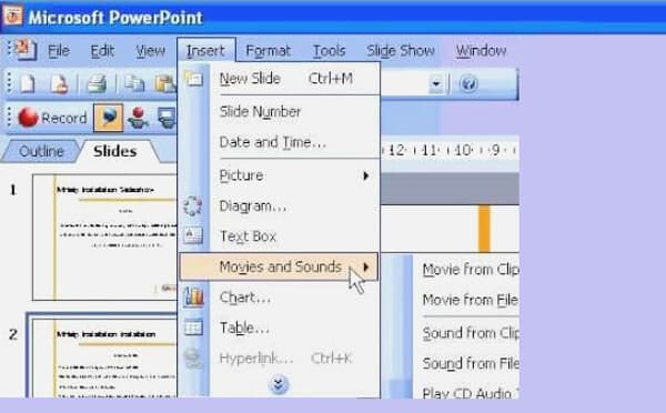 Add Music to PowerPoint 2007