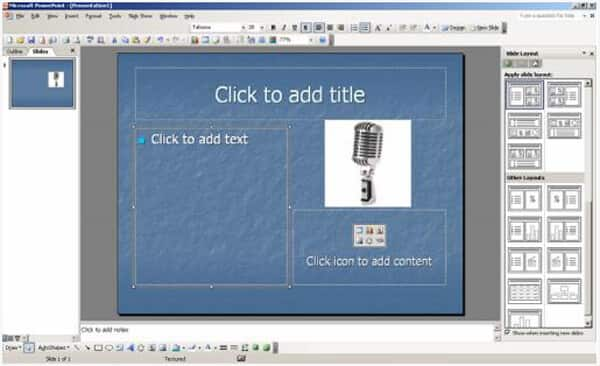 Crea un PowerPoint