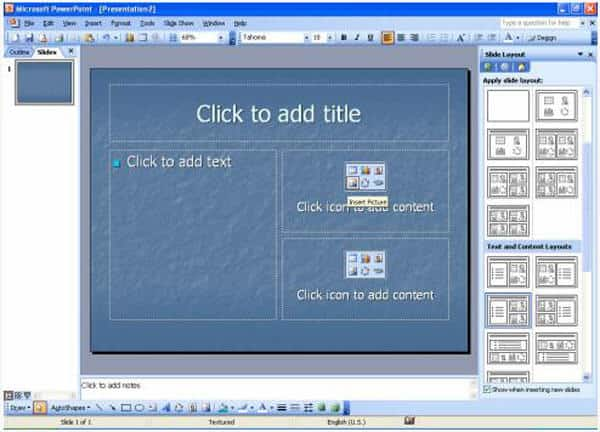 Add PowerPoint Text