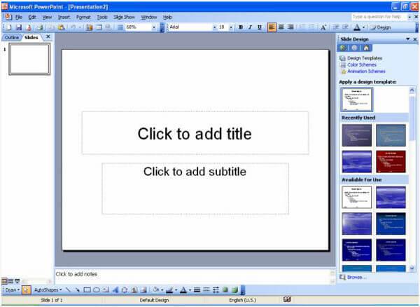Avvia PowerPoint