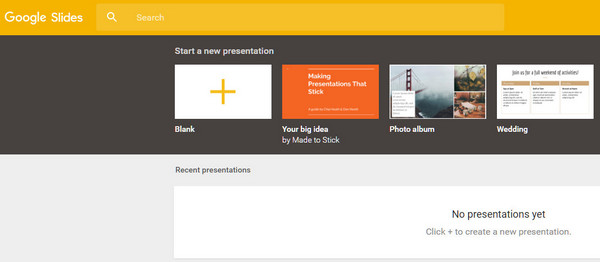 Video PowerPoint online - Presentazioni Google