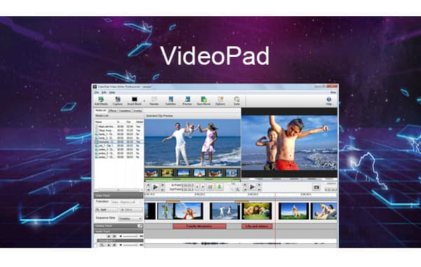 VideoPad Video Editor Review and Video Effects Introduction [2018]