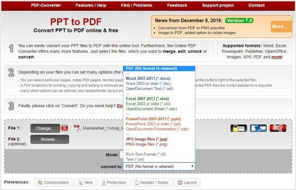 How to Convert PPT to PDF (PowerPoint to PDF)