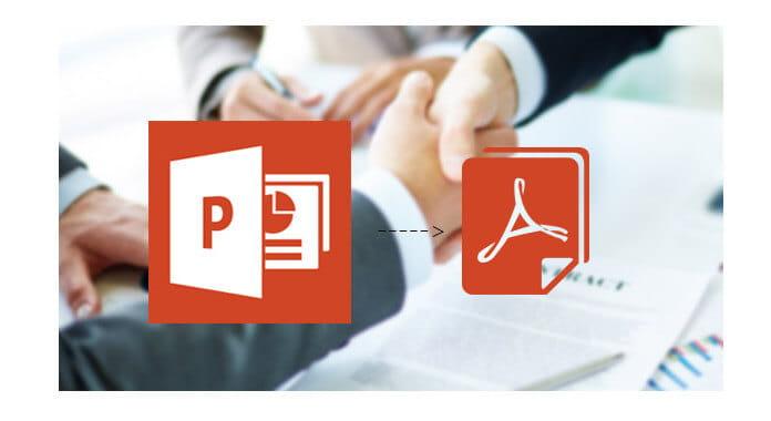 Converti PPT in PDF