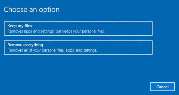 Αφαιρέστε τα πάντα στον φορητό υπολογιστή HP
