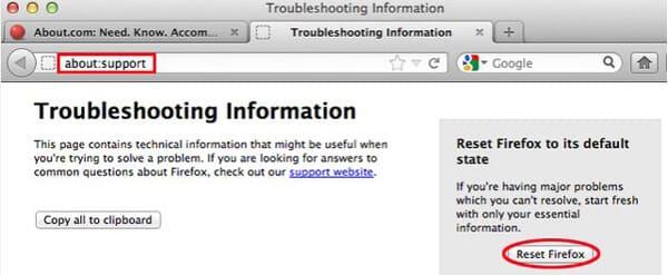 Apri Firefox