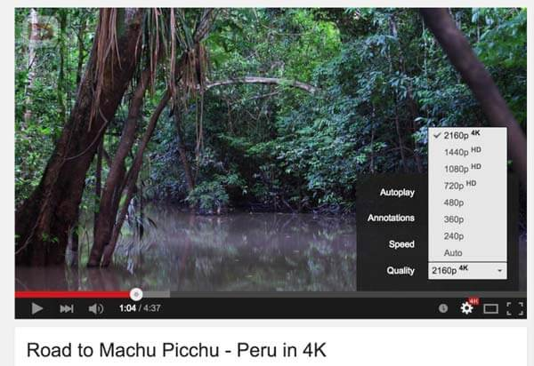 How to Watch 4K YouTube Videos