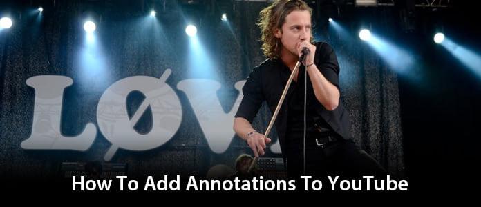 Annotaties toevoegen aan YouTube