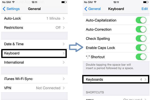 Tastiera Emoji per iPhone