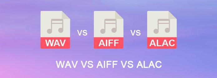 WAV VS AIFF VS ALAC