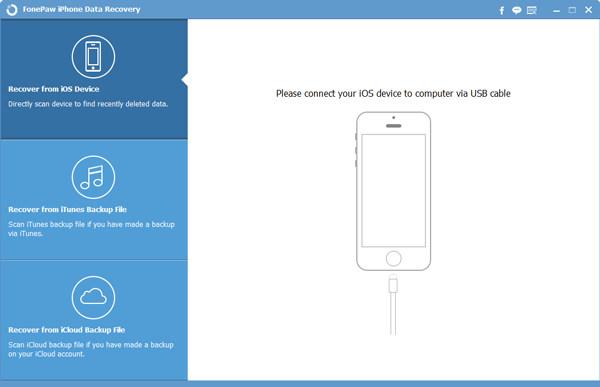 Recupero dati iPhone FonePaw