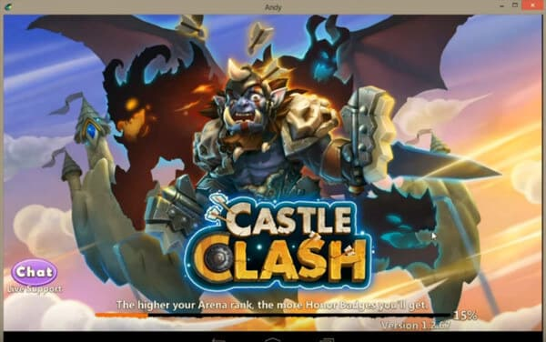 Gioca ai giochi Android su PC