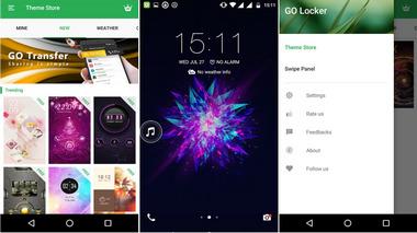 Εφαρμογές Go Locker Lock Screen για Android