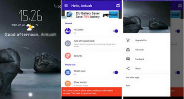 Ciao Locker Lock Screen Apps per Android