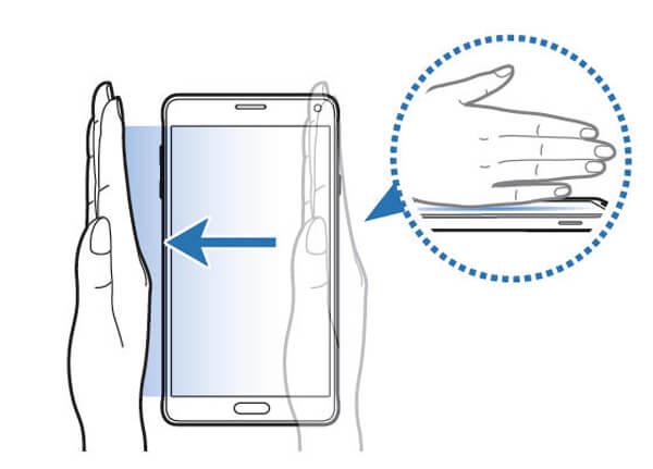 Χρησιμοποιήστε το Palm Swipe για να καταγράψετε τη Samsung