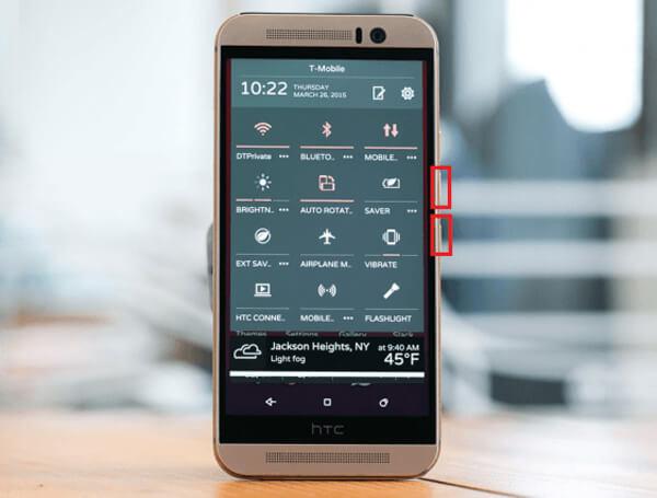 Come fare uno screenshot su HTC