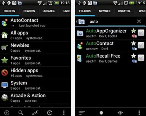App Organizer - Auto App Organizer gratuito
