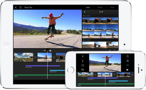 iMovie per iOS