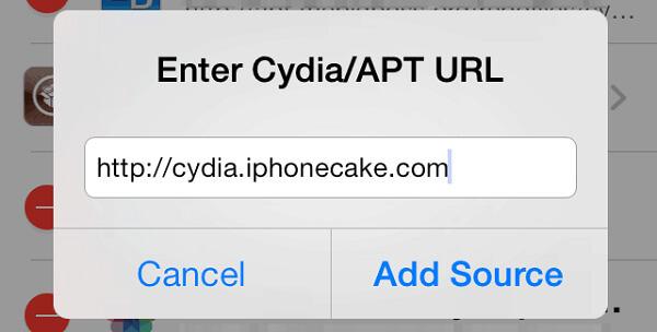AppCake από τη Cydia