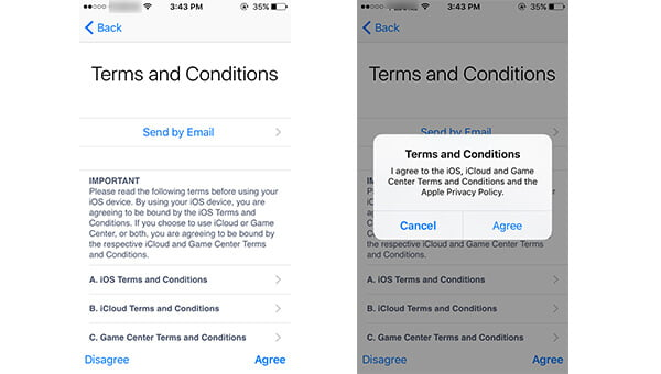 Review Apple ID Important Note to Create iCloud Account