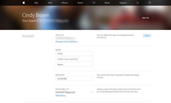 Zmień adres e-mail powiązany z Apple ID