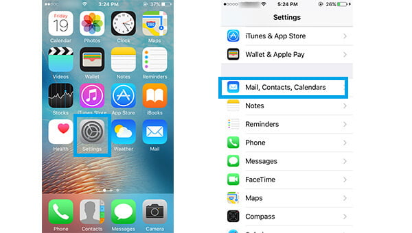 Create New iCloud Account in iPhone Settings