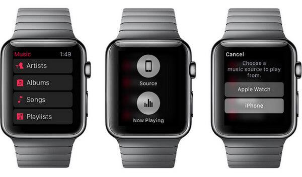 Apple Music su Apple Watch
