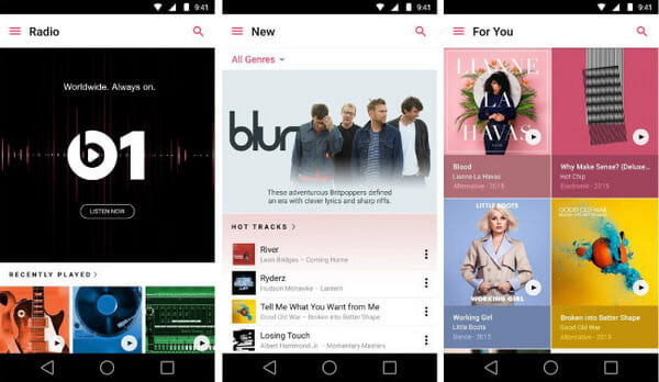 Apple Music Player dla Androida