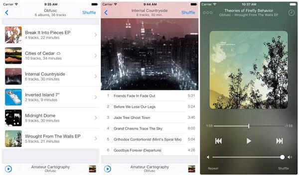 ecoute - un fantastico lettore musicale Apple
