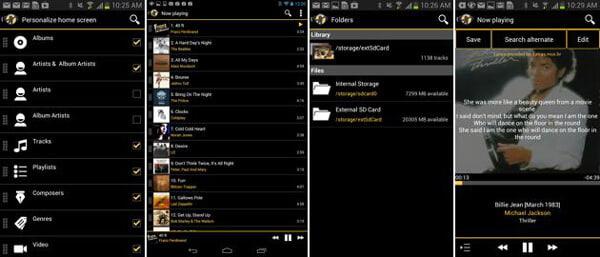 MediaMonkey-適用於Android的Apple音樂播放器