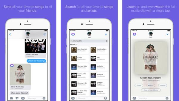 Soundshare - un lettore musicale Apple social
