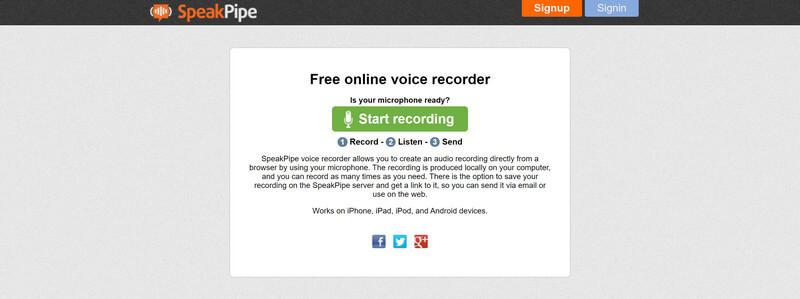 Δωρεάν ηλεκτρονική συσκευή εγγραφής φωνής ομιλίας