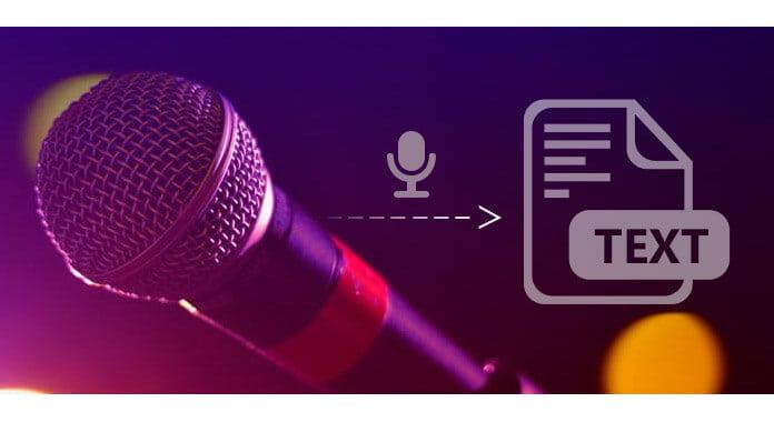Audio a testo