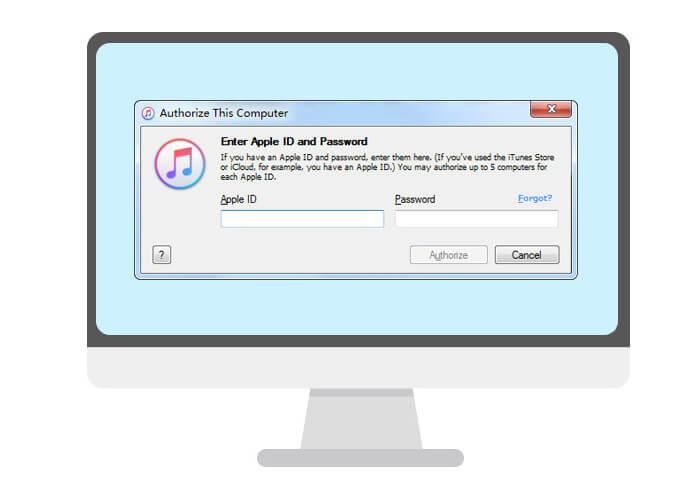 Autorizzare o rimuovere l'autorizzazione del computer su iTunes