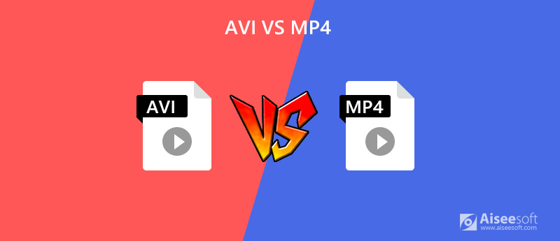 AVI vs MP4