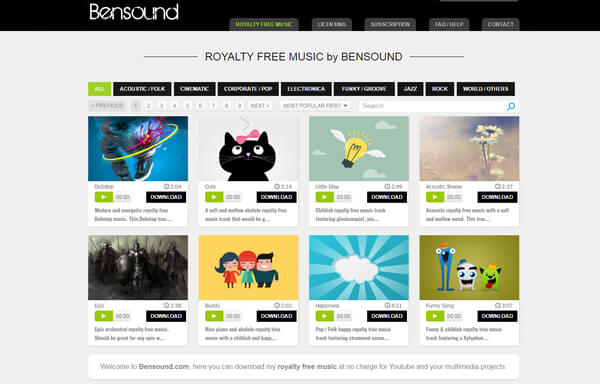 Best 10 Places to Get Background Music for Video (Free Download)