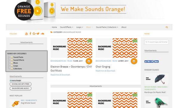 Orange Free Sound