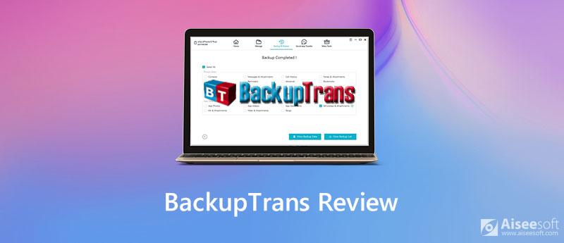Recensione di BackupTrans