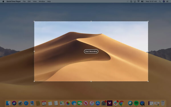Quicktime Record su Mac