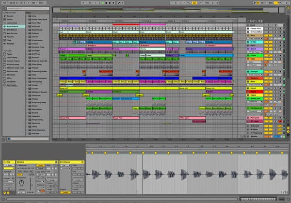 Il miglior software di editing audio - Ableton Live