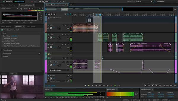 Il miglior software di editing audio - Adobe Audition