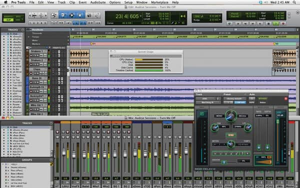 WAV-editor - Avid Pro Tools