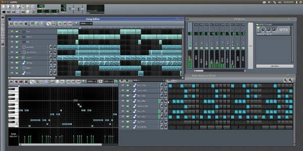 Il miglior software di editing audio - LMMS