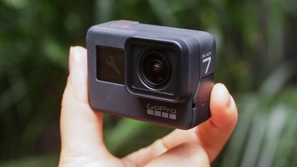 GoPro kamera pro vlogování
