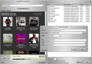 Εύκολο πρόγραμμα λήψης MP3