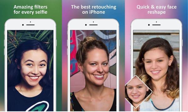 Nejlepší aplikace pro úpravy fotografií pro iPhone - Facetune 2
